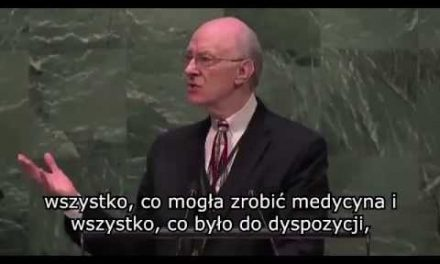 Był martwy przez 45 minut! Oto co powiedział o Jezusie na forum ONZ