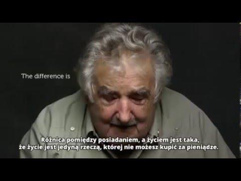 """Jose Mujica – """"najbiedniejszy"""" prezydent Swiata o konsumpcji"""