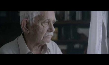 Reklama o samotności podczas Świąt.
