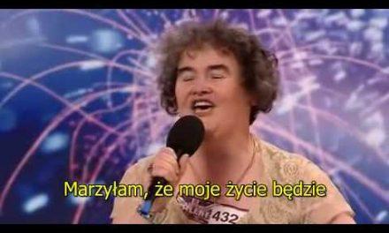 Susan Boyle – marzenia się spełniają