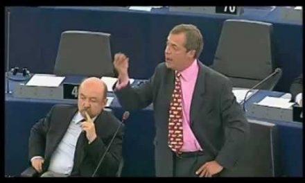 Zamknięci w gospodarczym więzieniu – Nigel Farage